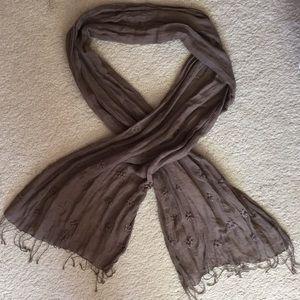 NWOT Gap linen scarf